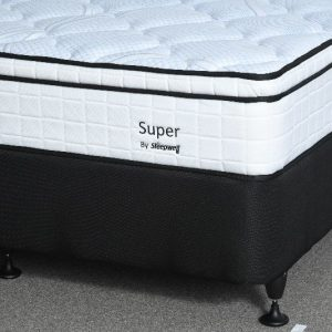 Super pillow top bed